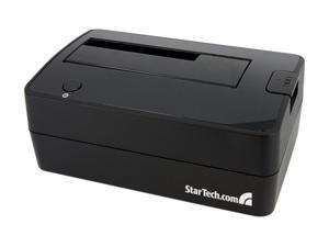 "StarTech SATDOCKU3S 2.5"" & 3.5"" Black USB 3.0 Hard Drive Docking Station for 2.5/3.5 HDD"