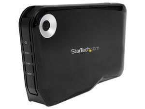 StarTech.com Wireless 2.5in External SATA Hard Drive HDD Enclosure w/USB & WiFi AP