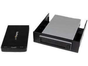 "StarTech.com Removable 2.5"" SATA Hard Drive Enclosure and Backup System for 3.5/5.25"" Bay"