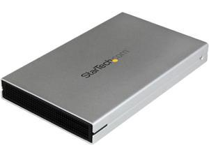 StarTech.com eSATAp or USB 3.0 External 2.5-Inch SATA III 6Gbps Hard Drive/Solid State Drive Enclosure with UASP (S251SMU33EP)
