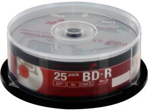 Mitsubishi 25GB BD-R 25 Packs Disc Model TM-BBDR25