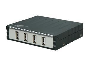 "SYBA SD-U2HUB-4 3.5"" Front Panel USB2.0 4-port Hub"