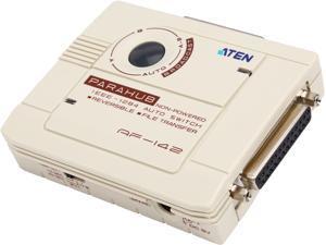 Aten AF142 2 Port Compact Bitronics Parallel Auto Switch