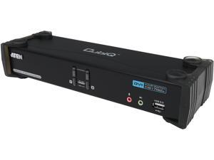 ATEN CS1782A 2-port DVI Dual Link KVM with USB peripheral and Audio Support