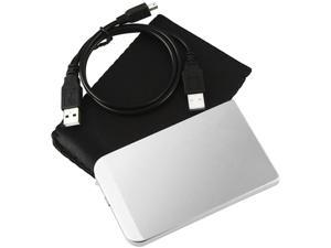 "Insten 1042815 2.5"" Silver SATA USB 2.0 SATA External Enclosure"