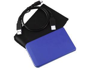 Insten 1042816 Blue SATA External Enclosure