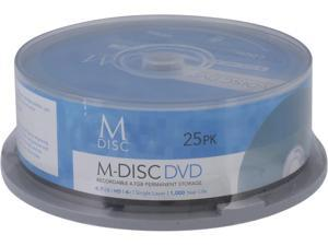 MDisc 4.7GB DVD Recordable Media - 25 Pack Model MDHA025
