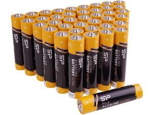 Silicon Power AAA Performance Alkaline Batteries (40-Pack)