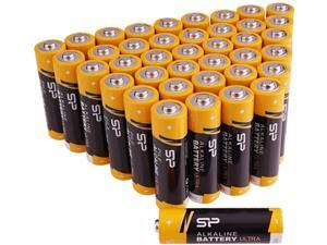 Silicon Power AA Performance Alkaline Batteries (40-Pack)