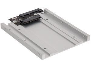 "SoNNeT TP-25ST35TA Transposer Universal 2.5"" to 3.5"" Drive Tray Adapter"