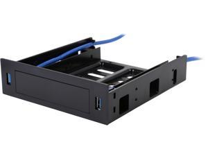 "VANTEC HDA-502H USB 3.0 Front Panel with 5.25"" HDD/SSD Bracket"