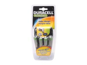 DURACELL CEF14NC 4-pack 1800mAh AA Ni-MH Rechargeable Batteries & Charger Kit