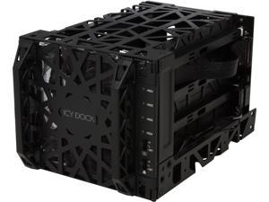 "ICY DOCK Black Vortex MB074SP-1B 3.5"" SATA HDD 4 in 3 Hot-Swap Module Cooler Cage"
