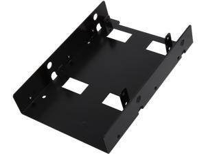 Sabrent BK-HDDF 2.5 Inch to 3.5 Inch Internal Hard Disk Drive Mounting Bracket Kit