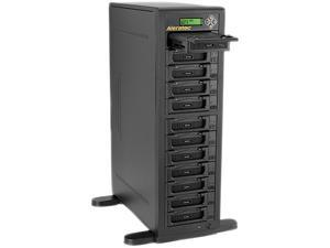 ALERATEC 350124 1:11 HDD Copy Cruiser IDE/SATA - 11 HDD Duplicator and 12 HDD Sanitizer