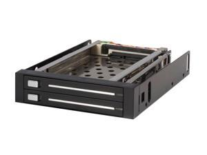 StarTech HSB220SAT25B 2 Drive 2.5in Trayless Hot Swap SATA Mobile Rack Backplane