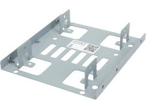 "StarTech.com Dual 2.5"" to 3.5"" Hard Drive Bay Mounting Bracket - 2.5"" to 3.5"" HDD / SSD Mounting Bracket w/ SATA Power and Data cabling BRACKET25X2"