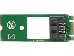 SYBA SI-ADA40114 M.2 NGFF Socket to SATA Adapter Card