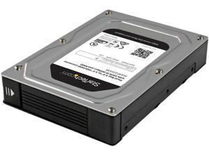 "StarTech 35SAT225S3R Dual-Bay 2.5"" to 3.5"" SATA Hard Drive Adapter Enclosure with RAID"