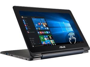 "ASUS Laptop Transformer Book Flip TP200SA-EDU Intel Celeron N3050 (1.60 GHz) 4 GB Memory 64 GB SSD Intel HD Graphics 11.6"" Touchscreen Windows 10 Pro"
