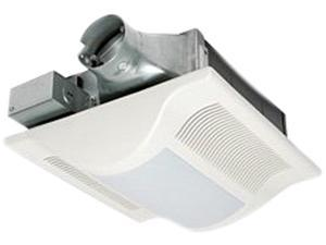 Panasonic Fv08Vsl3 Ventilation Fan 80Cfm Low Profile with Light