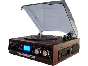 Boytone BT-17DJM-C Full Size 3 Speed Turntable Cassette/MP3/WMA Playback /Recorder