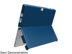 Incipio MRSF-082-NVY Feather Advance - Back Cover For Tablet - Plextonium, Vegan Leather - Navy - For Microsoft Surface Pro 3