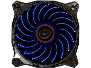 LEPA Blue Casino Fan 120mm - 1 x 120 mm - 1600 rpm CASINO BLUE LED FAN W/ VORTEX FRAME