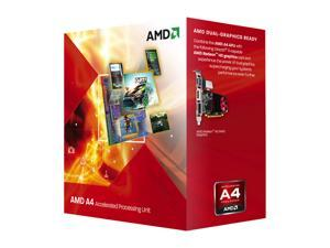 AMD A4-3300 2.5GHz Socket FM1 Dual-Core Desktop APU (CPU + GPU) with DirectX 11 Graphic