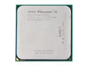 AMD Phenom II X4 910 2.6GHz Socket AM3 HDX910WFK4DGI Desktop Processor