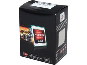 AMD A6-5400K Trinity Dual-Core 3.6GHz (3.8GHz Turbo) Socket FM2 65W Desktop APU (CPU + GPU) with DirectX 11 Graphic AMD Radeon ...