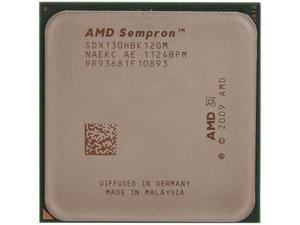 AMD Sempron 130 Sargas Single-Core 2.6GHz Socket AM3 45W Desktop Processor SDX130HBK12GM