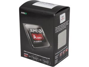 AMD A10-6790K Richland 4.0 GHz (4.3GHz Turbo) Socket FM2 100W Quad-Core Desktop Processor – Black Edition AMD Radeon HD 8670D