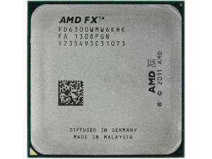 NEVER USED AMD OEM TRAY FX-6300 Vishera 6-Core 3.5 GHz (4.1 GHz Turbo) Socket AM3+ 95W  Desktop Processor