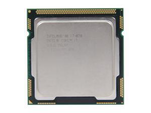 Intel Core i7-870 Lynnfield Quad-Core 2.93GHz (3.60GHz Turbo Boost) LGA 1156 95W SLBJG Desktop Processor