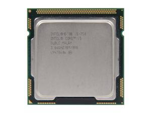 Intel Core i5-750 2.66GHz (3.2GHz Turbo Boost) LGA 1156 Quad-Core Desktop Processor