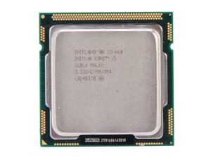 Intel Core i5-660 3.33GHz (3.6GHz Turbo Boost) LGA 1156 Desktop Processor