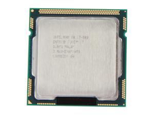 Intel Core i7-880 3.06GHz (3.73GHz Turbo Boost) LGA 1156 Quad-Core Desktop Processor