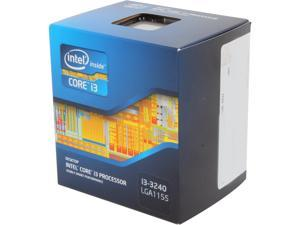 Intel Core i3-3240 Ivy Bridge Dual-Core 3.4 GHz LGA 1155 55W BX80637i33240 Desktop Processor                                                                                   Intel HD Graphics 2500