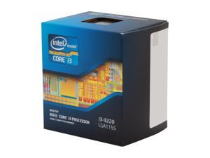 Intel Core i3-3220 Ivy Bridge Dual-Core 3.3 GHz LGA 1155 55W BX80637i33220 Desktop Processor                                                                                   Intel HD Graphics 2500