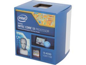 Intel Core i3-4330 Haswell Dual-Core 3.5 GHz LGA 1150 54W BX80646I34330 Desktop Processor Intel HD Graphics 4600