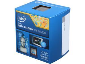 Intel Celeron G1820 Haswell Dual-Core 2.7 GHz LGA 1150 53W BX80646G1820 Desktop Processor Intel HD Graphics