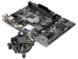 ASRock H81M-HDS Motherboard and Intel Core i7-4790 3.6GHz  Combo Fan Cooling