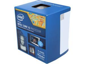 Intel Core i5-4460 Haswell Quad-Core 3.2 GHz LGA 1150 BX80646I54460 Desktop Processor Intel HD Graphics 4600