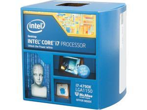 Intel Core i7-4790K Devil's Canyon Quad-Core 4.0 GHz LGA 1150 88W BX80646I74790K Desktop Processor Intel HD Graphics ...