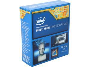 Intel Xeon E5-1650 v3 Haswell-EP 3.5GHz 6 x 256 KB L2 Cache 15MB  L3 Cache LGA 2011-3 140W Server Processor BX80644E51650V3 - Retail