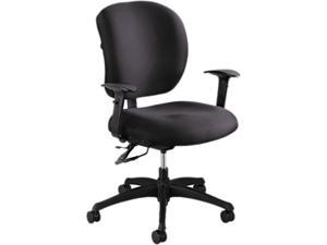 "Safco 3391BL Alday 24/7 Task Chair 26""W x 26""D x 35 1/2- 38""H Black - OEM"