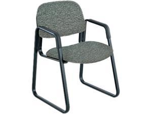 """Safco 7047GR Cava Urth Sled Base Guest Chair 22 1/2""""W x 24""""D x 32 1/2""""H (Gray) - OEM"""