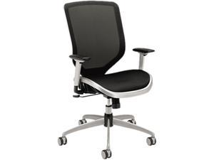 Boda Series High-Back Work Chair Mesh Seat and Back Black