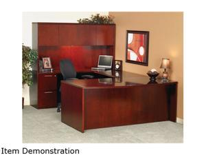 Mayline Mira MDK3672 Bowfront Desk - 1 EA/CT